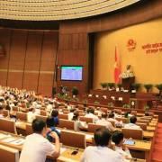 Phát phiếu lấy ý kiến đại biểu Quốc hội về 2 điều của luật An ninh mạng