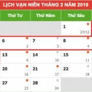 Thủ tướng chốt phương án nghỉ 9 ngày dịp Tết Nguyên đán Kỷ Hợi 2019
