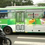 TP.HCM đấu giá quảng cáo trên xe buýt