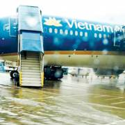 Đề xuất đầu tư 150 tỷ đồng chống ngập sân bay Tân Sơn Nhất