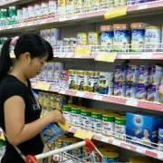 Sữa bột trẻ em tăng giá