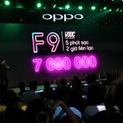 Oppo F9 có công nghệ sạc nhanh VOOC và camera kép phía sau
