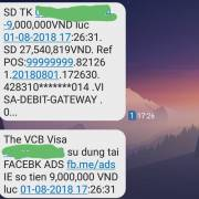Hàng loạt tài khoản thẻ Visa của Vietcombank bị mất tiền