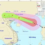 Bão Mangkhut: Bắc Bộ có mưa lớn diện rộng, biển động rất mạnh