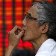 Hơn 1.000 cổ phiếu Trung Quốc giảm kịch sàn