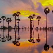Tịnh Biên, đêm trung thu, mùa nước nổi