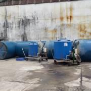 26 tấn axit clohydric bị chìm dưới sông Đồng Nai đã được hút lên an toàn