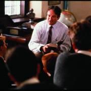 Trong phim 'Hội cố thi nhân', thầy là người truyền cảm hứng