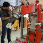 'Đại hội robot' ở khu công nghệ cao TP.HCM