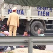Tài xế xe tải tông chết 8 người ở Hải Dương dương tính với ma túy