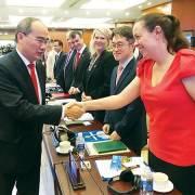 Lãnh đạo TP.HCM đối thoại doanh nghiệp FDI