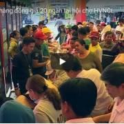 [Video] Hàng đồng giá 20 ngàn: 'điểm nóng' tại các hội chợ HVNCLC
