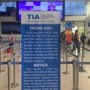 Sân bay Tân Sơn Nhất ngưng phát thanh thông tin chuyến bay