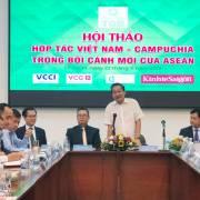 Năm 2019, kim ngạch thương mại Việt Nam – Campuchia có thể đạt 5 tỷ USD