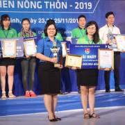 Bột rau sấy lạnh đoạt giải nhất Cuộc thi dự án khởi nghiệp 2019