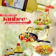 Dầu đậu nành Janbee – chất lượng chuẩn mực