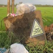 Rác nguy hại đe dọa vựa lúa ĐBSCL