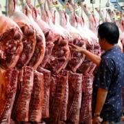 Giá thịt heo vượt giá thịt bò nhập khẩu