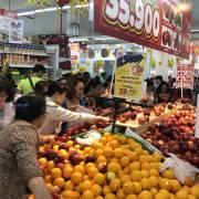 Trái cây ngoại tiếp tục đổ về thị trường Việt Nam