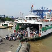 TP.HCM: Ngừng hoạt động phà Cát Lái và các bến đò ngang sông