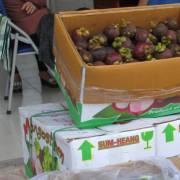Măng cụt Thái Lan ngập chợ