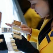 Giá vàng miếng SJC đắt hơn thế giới ở mức kỷ lục