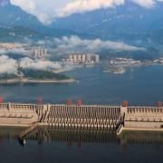 Mực nước đập Tam Hiệp ở Trung Quốc vượt mức cảnh báo lũ
