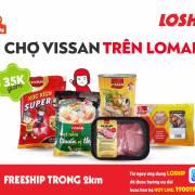 Vissan khai trương chuỗi cửa hàng trên dịch vụ đi chợ hộ Lomart