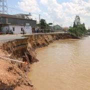ĐBSCL: Sạt lở gia tăng do dòng nước 'đói' phù sa