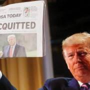 Ông Trump nhiều khả năng 'trắng án' lần hai dù đảng Dân chủ muốn luận tội