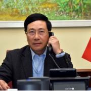 PTT Phạm Bình Minh trao đổi với Mỹ về cuộc điều tra chính sách tiền tệ