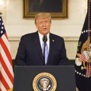 Ông Trump lần đầu lên tiếng về vụ bạo loạn ở tòa nhà quốc hội Mỹ