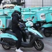 Thị trường giao đồ ăn trực tuyến Hàn Quốc tăng gần 80%