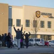 Cuộc 'đấu tranh' của công nhân Amazon thất bại