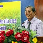 Ông Hồ Quang Cua: 'Tôi vẫn đem gạo ST24 và ST25 đi thi'
