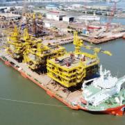 DN Việt trúng thầu dự án chế tạo giàn khoan cho mỏ dầu lớn nhất thế giới