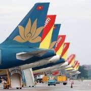 Hàng không Việt Nam chạm đáy, 65-95% đội bay nằm đất