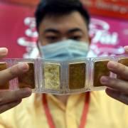 Giá vàng trong nước cao hơn thế giới ở mức kỷ lục