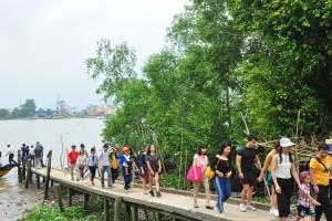 [Photo] Sông nước mùa hè phía tây yên tĩnh
