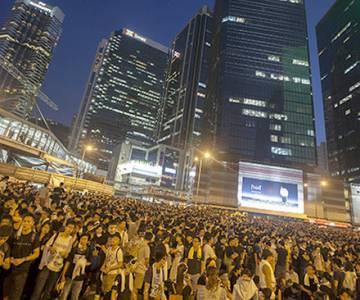 Hong Kong đối mặt với nguy cơ tăng trưởng kinh tế 0%