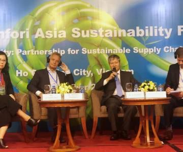 Hợp tác phát triển bền vững thúc đẩy chuỗi cung ứng toàn cầu