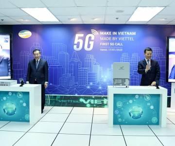 Viettel thực hiện cuộc gọi 5G đầu tiên trên thiết bị 'Make In Vietnam'