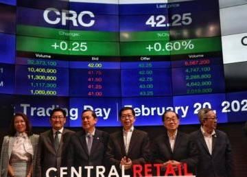Central Retail khởi động đợt IPO lớn nhất lịch sử Thái Lan