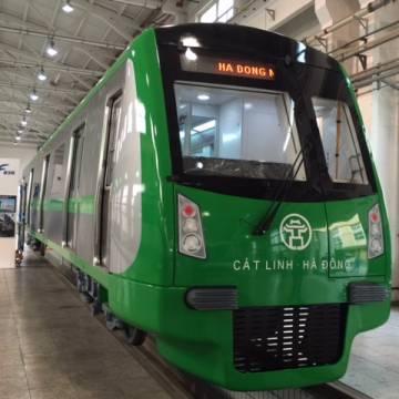Hà Nội không thay đổi đầu tàu đường sắt trên cao