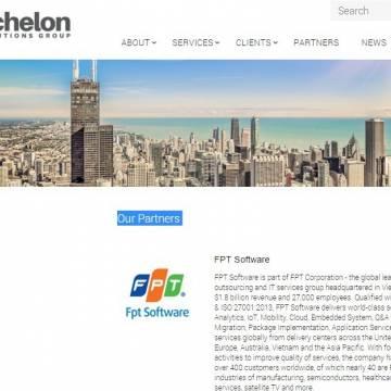 FPT Software là đối tác chiến lược với Echelon Solutions Group