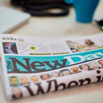 The New Day, tờ báo giấy ra đời khi báo giấy hết thời