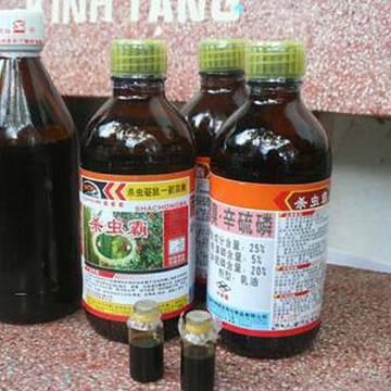 2 tháng đầu năm đã chi gần 52 triệu USD nhập khẩu thuốc trừ sâu Trung Quốc
