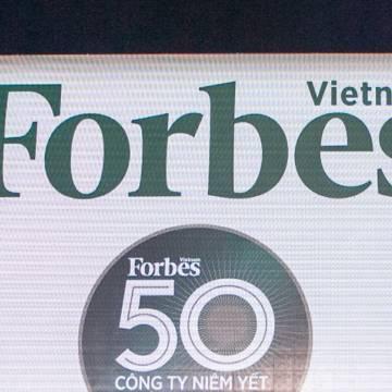 Forbes công bố danh sách 50 công ty niêm yết tốt nhất 2016