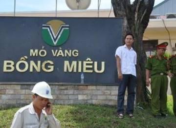 Công ty vàng Bồng Miêu nợ thuế hàng trăm tỷ đồng