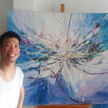 Họa sĩ Lê Minh Châu: Hội hoạ đã mang lại cho tôi cuộc sống đúng nghĩa nhất